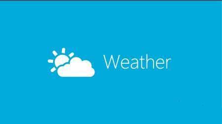 天气预报小程序